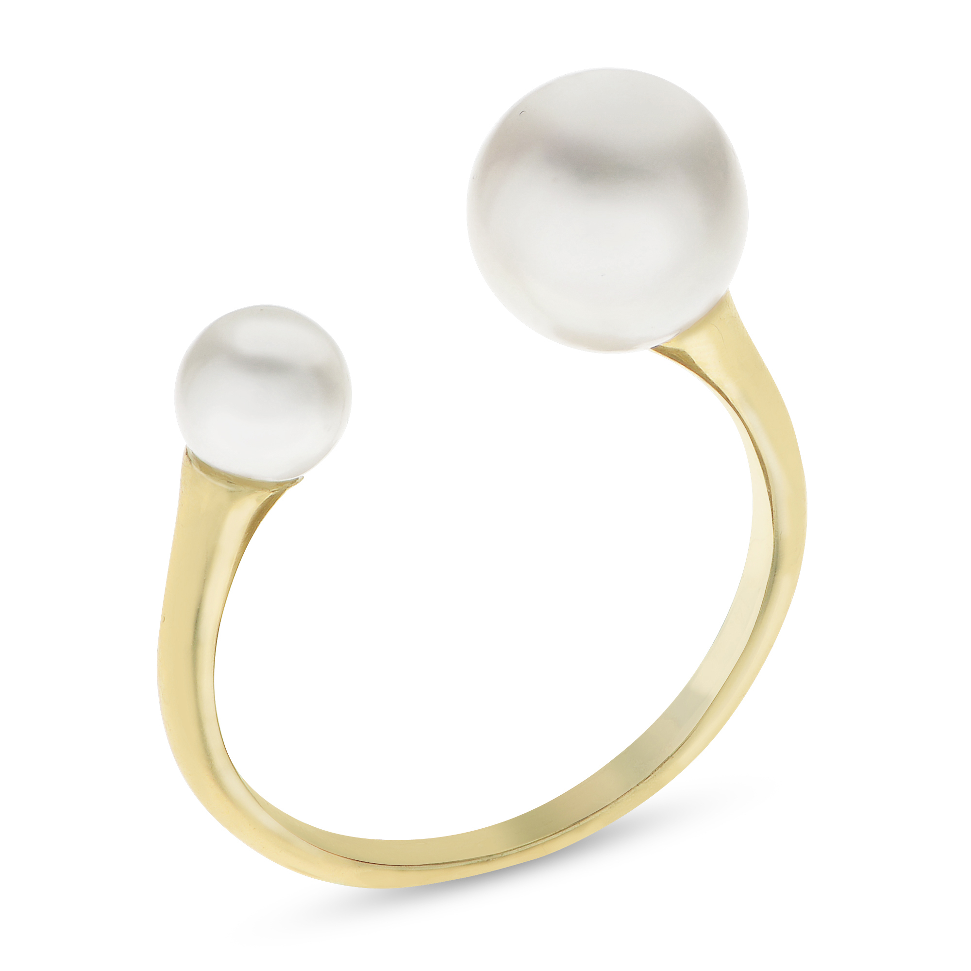 bc4d008d7 14K Yellow Gold Freshwater Pearl Ring